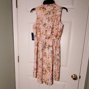 Apt. 9 Dresses - NWT Apt. 9 Sleeveless Zipper-Accent Dress